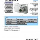 SONY DSC-W100 DIGITAL CAMERA SERVICE REPAIR MANUAL