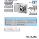 SONY DSC-W35 DIGITAL CAMERA SERVICE REPAIR MANUAL