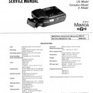 SONY MAVICA MVC-A10 VIDEO CAMERA SERVICE REPAIR MANUAL