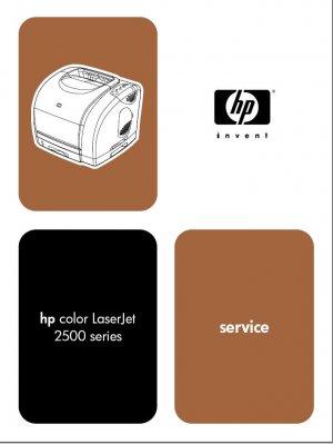 HP LASERJET 2500L 2500n 2500tn PRINTER SERVICE REPAIR MANUAL