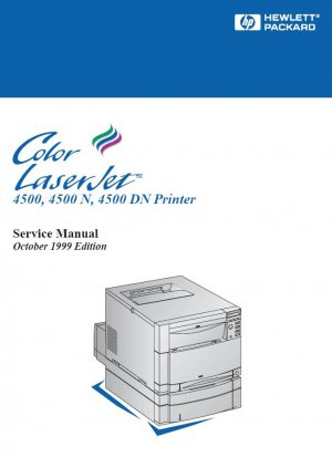 HP LASERJET 4500 N DN 4500N 4500DN PRINTER SERVICE REPAIR MANUAL