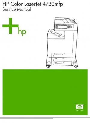 HP LASERJET 4730mfp PRINTER SERVICE REPAIR MANUAL