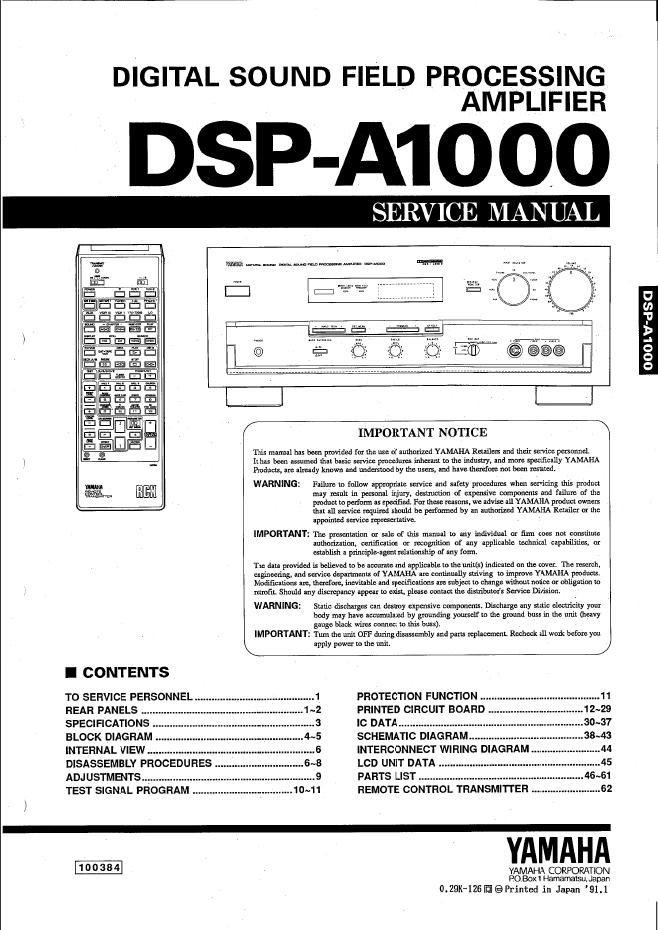 Yamaha Dsp