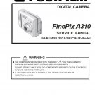 FUJIFILM FINEPIX A310 FUJI DIGITAL CAMERA SERVICE REPAIR MANUAL