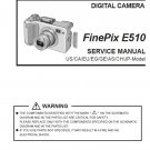 FUJIFILM FINEPIX E510 FUJI DIGITAL CAMERA SERVICE REPAIR MANUAL