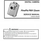 FUJIFILM FINEPIX F601 ZOOM FUJI DIGITAL CAMERA SERVICE REPAIR MANUAL