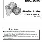 FUJIFILM FINEPIX S2 PRO FUJI DIGITAL CAMERA SERVICE REPAIR MANUAL