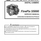 FUJIFILM FINEPIX S5000 FUJI DIGITAL CAMERA SERVICE REPAIR MANUAL