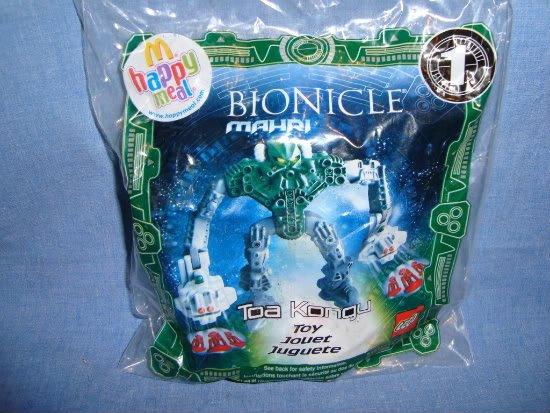 NIP McDonalds Happy Meal Bionicle Mahri Toa Kongu #1
