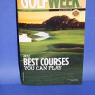 NEW Golf Week Best Courses You Can Play MAY 2011 Soft Book Magazine