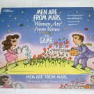 Men Are From Mars Women Are From Venus Board Adult Game 1998 Missing 1 Piece