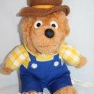"Berenstain Bears plush 1993 Papa Bear Stuffed Chosun Int Animal Toy 12"" dad"