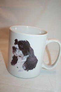 "COCKER SPANIEL DOG Large Coffee Mug 4.25"" Cup Breed Description Bowwowmeows"