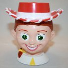 Disney On Ice JESSIE TOY STORY MUG Plastic Cup Flip Lid Girl Cowgirl Hat Pixar