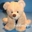 "Russ Baby Plush TEDDY BEAR of MINE 12"" Cream Brown Nose Stuffed Animal Toy 21733"