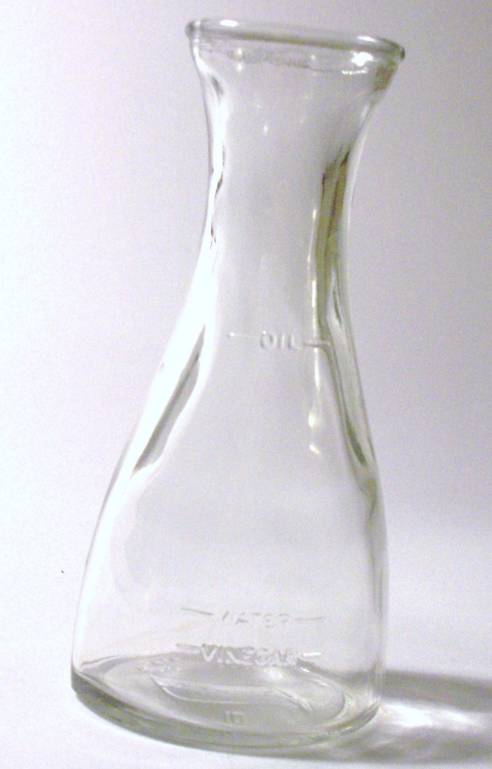Simple & Classic Glass Dressing Decanter
