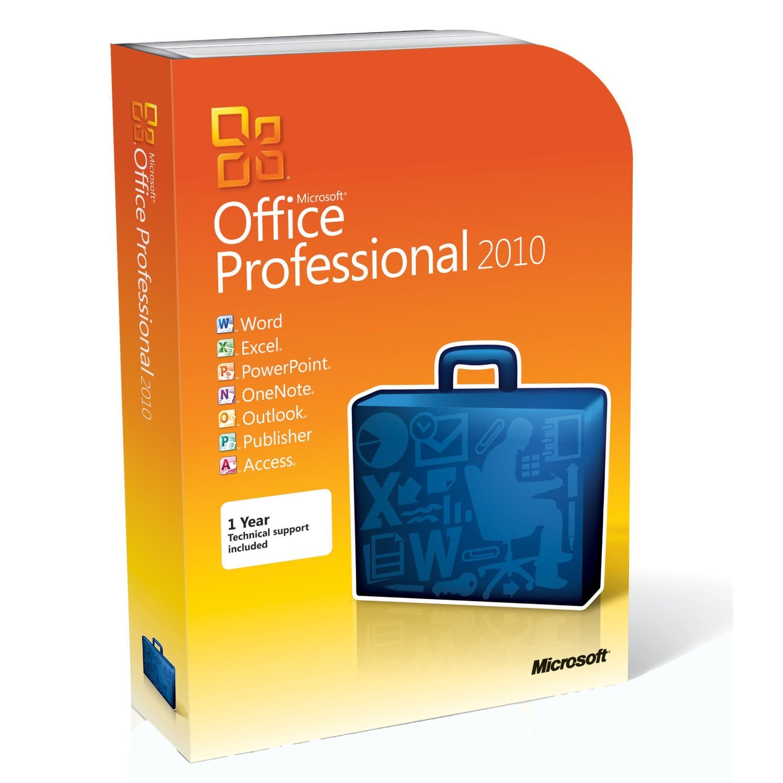 Microsoft Office Professional 2010 - 1 User/1 PC - DigitalDownload