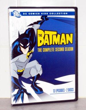 The Batman- The Complete Second Season DVD (Region 1)