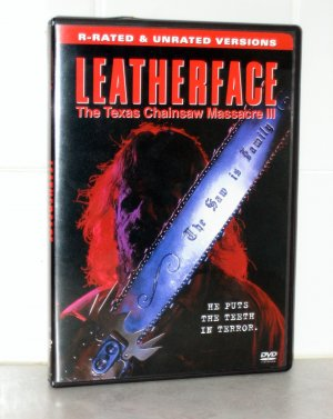 Leatherface: The Texas Chainsaw Massacre III DVD (REGION 1)