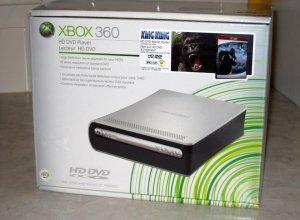 X Box 360 High Definition DVD Player with 17 HD DVD Movie Bundle
