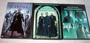 The Matrix DVD Collection