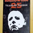 Halloween: 25 Years of Terror DVD