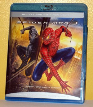 Spiderman 3 Blu Ray