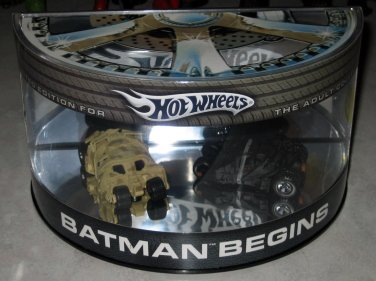 Hot Wheels 2005 Batman Begins Diecast  Model Cars Set