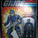 G.I. Joe 25th Anniversary - Wave 1 - Cobra Officer - Grey Mask (Silver/Foil Lettering)