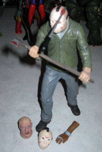 """Mezco Cinema Of Fear 7"""" Jason Vorhees Action Figure Friday the 13th PART 3"""