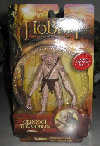 "Hobbit 3.75"" Grinnah the Goblin (Bridge Direct)"