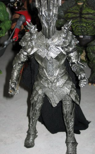 "Lord of the Rings 9"" Electronic Sauron � Loose (Toy Biz)"