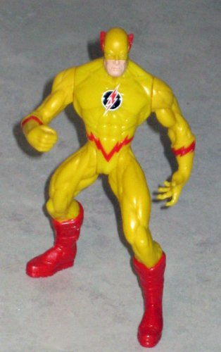 "TOTAL JUSTICE 5"" DC Comics Exclusive Reverse Flash Figure-Loose"