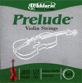 86032 D'Addario Violin Prelude 1/2 Medium, J810-M