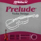86031 D'Addario Violin Prelude 1/4 Medium, J810-M