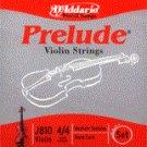 86133 D'Addario Violin Prelude 4/4 Medium, J810-M