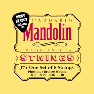 86401 D'Addario Mandolin Strings J74