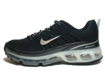 Nike Air Max 360 Black / Metallic Silver-black