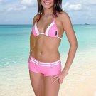 38 (M).New Prestige, Curacao bikini, triangle top, short