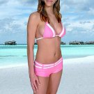 46 (3XL). New Prestige, Curacao bikini, triangle top, short