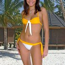 36 (S).New Prestige, Snowdrop bikini, bandeau top