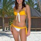(L) 40 .New Prestige, Snowdrop bikini, bandeau top