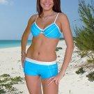 (M)38. New, Prestige Acapulco bikini, underwire bra, short. Free shipping!