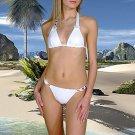 (XL) 42. New Prestige, Geranium bikini, triangle top. Free shipping!