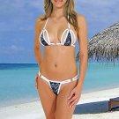 (XS) 34. New Prestige, Barberry bikini, triangle top, thong. Free shipping