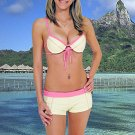 (L) 40 .New Prestige, Martinique (A) push-up bikini,  short. Free shipping!