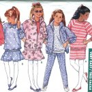Girls Top Skirt Pants Jacket size 7 8 10 Butterick 6750
