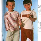 Boys T-Shirt sewing pattern size 2 3 4 5 6 Burda 9841