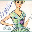 1950s vintage Rockabilly or Darted Dress - size 11 bust 31 1/2 - Simplicity 2971