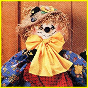 SCARECROW - Scarecrow Wreath - Hanging Scarecrow - - McCalls 8388